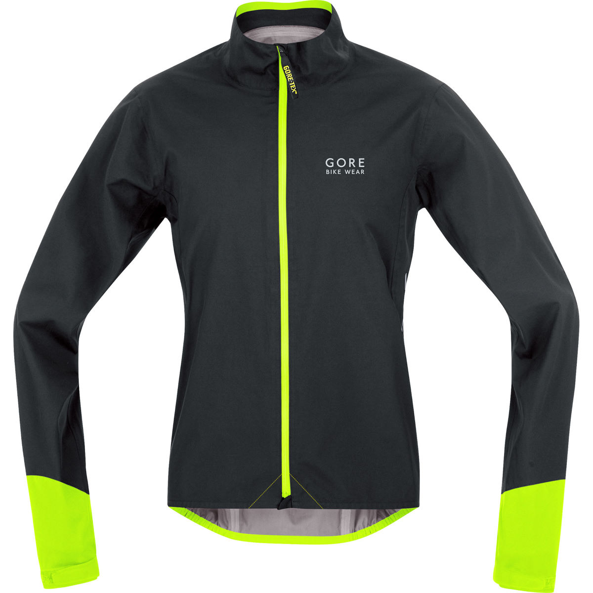 Veste Gore Bike Wear Power Gore-Tex Active - S Black/Neon Yellow Vestes imperméables vélo
