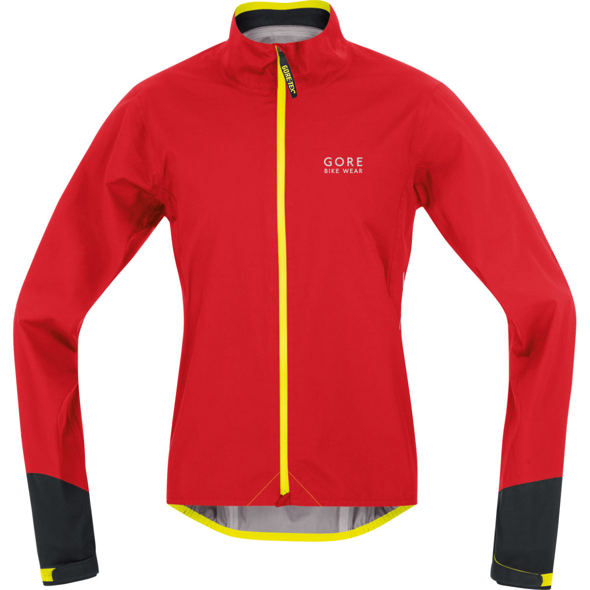 Veste Gore Bike Wear Power Gore-Tex Active - S Rouge/Noir Vestes imperméables vélo