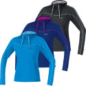 Gore Running Wear Ladies Essential Hooded Shirt - AW13