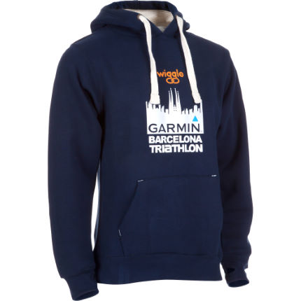 Wiggle Garmin Barcelona Triathlon Hoody Blue