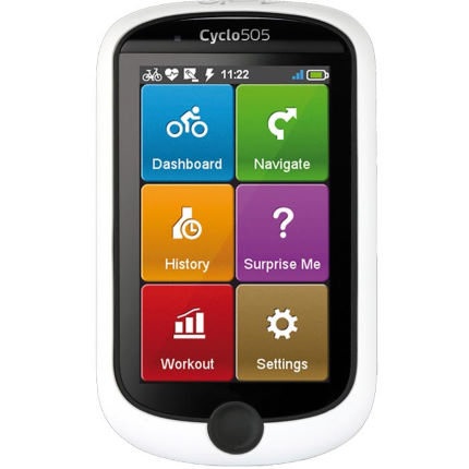 Mio Cyclo 505 GPS Computer With HR and Cadence UK Set