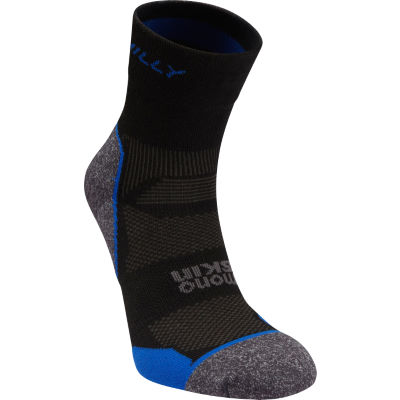 Calcetines Hilly Supreme (tobilleros) - Calcetines para correr Black/Charcoal/Blue S