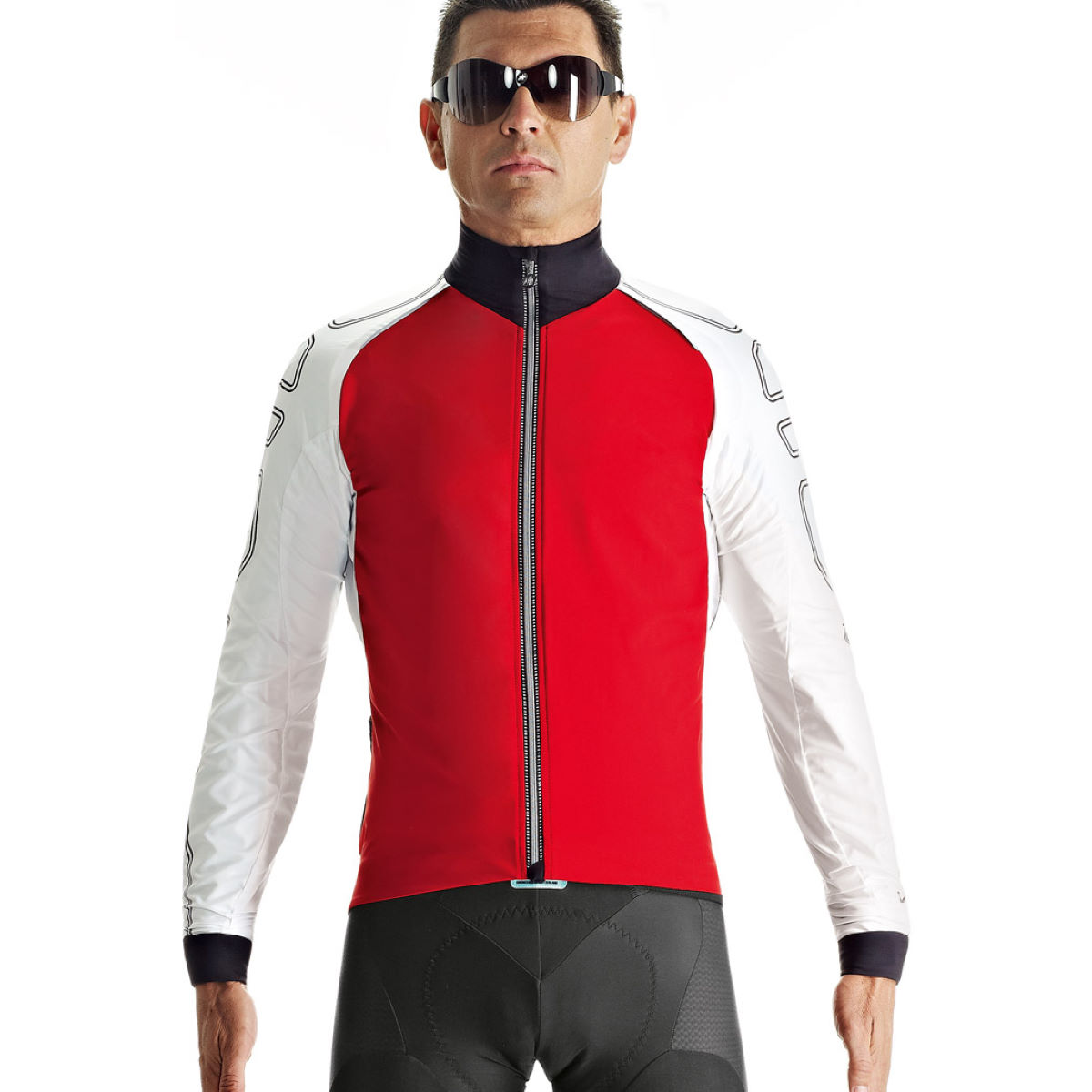 Veste coupe-vent Assos iJ.shaqUno - TIR Red Swiss Coupe-vents vélo