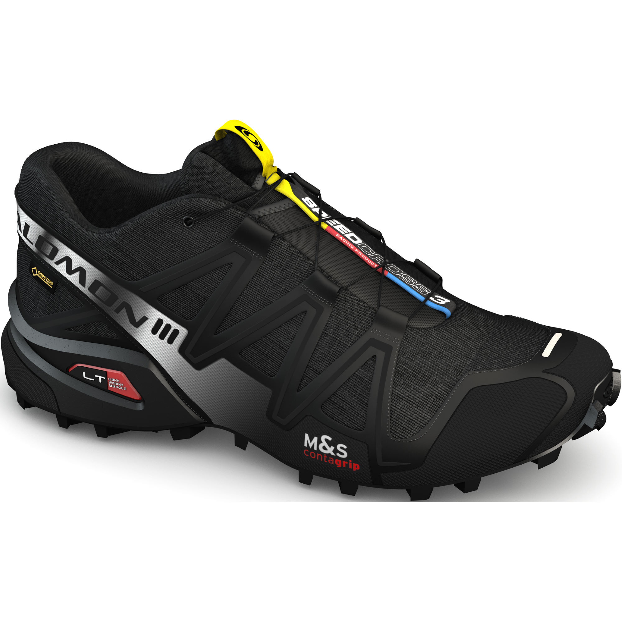 chaussures de running trail salomon speedcross 3 gtx shoes aw13 wiggle france. Black Bedroom Furniture Sets. Home Design Ideas