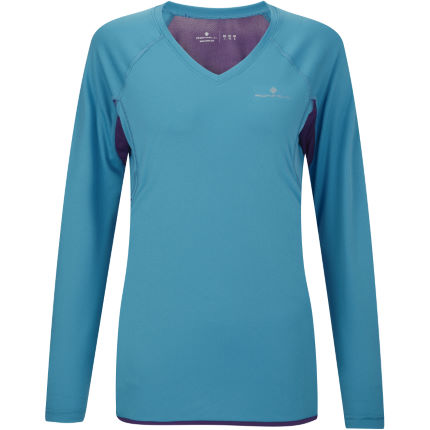 Ronhill Ladies Aspiration Long Sleeve Tee - AW13