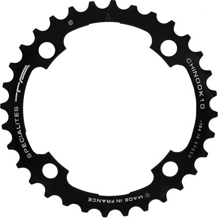 TA 104 PCD Chinook 10spd MTB Middle Chainring 36-38T