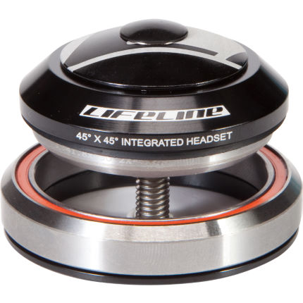 "LifeLine 1-1/8""-1.5"" Intergrated Headset with Alloy Cap"