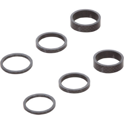 LifeLine Carbon Headset Spacer Kit, 6 Pack