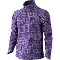 Nike Girls Element Jacquard 1/2 Zip Top - HO13