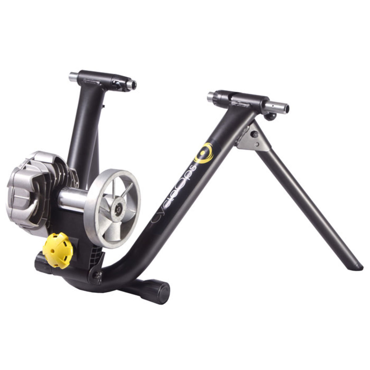 Home Trainer CycleOps Fluid 2 - Taille unique Noir/Jaune