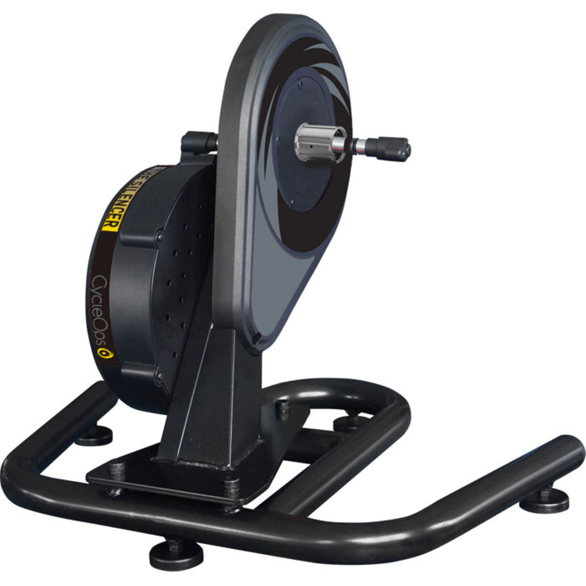 Home Trainer CycleOps Silencer Direct Drive Mag - Taille unique Noir Home Trainer et rouleaux