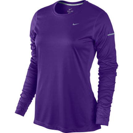 Nike Ladies Miler Long Sleeve Top - HO13
