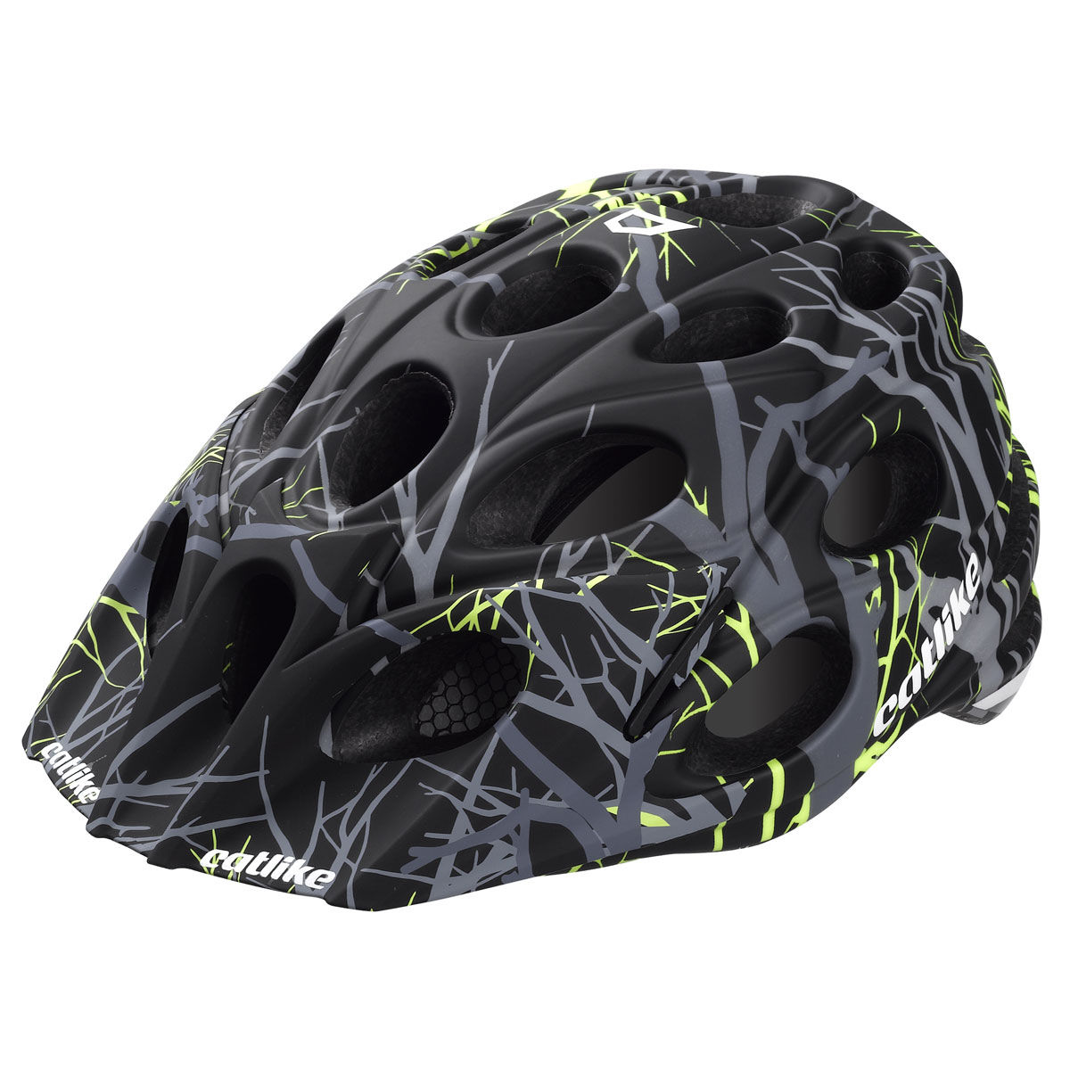 Casque VTT Catlike Leaf - M Black/Yellow Matt Casques VTT