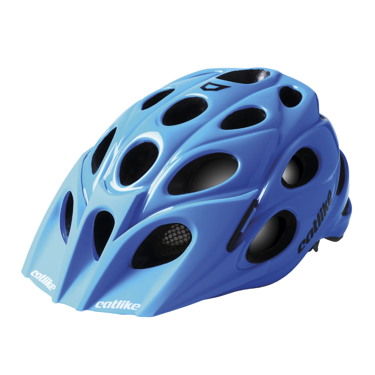 Casque VTT Catlike Leaf - M Blue Glossy Casques