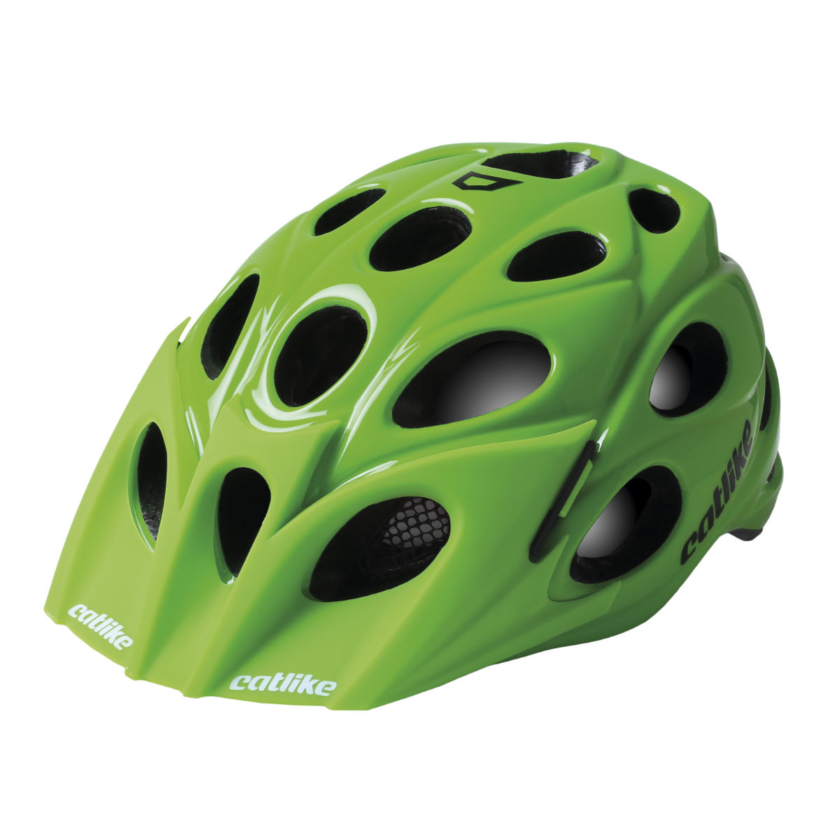 Casque VTT Catlike Leaf - M Green Glossy Casques
