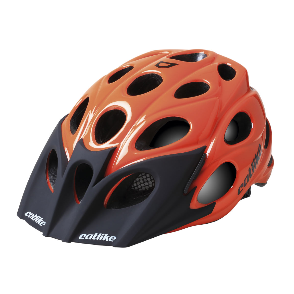Casque VTT Catlike Leaf - M Orange Glossy Casques