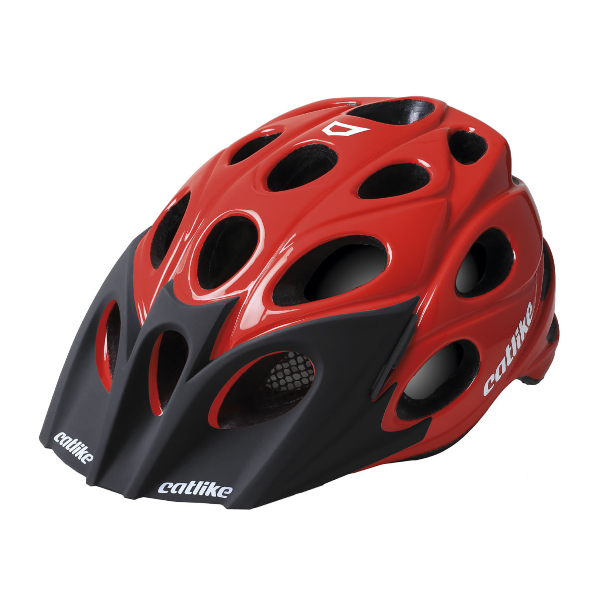 Casque VTT Catlike Leaf - M Red Glossy Casques