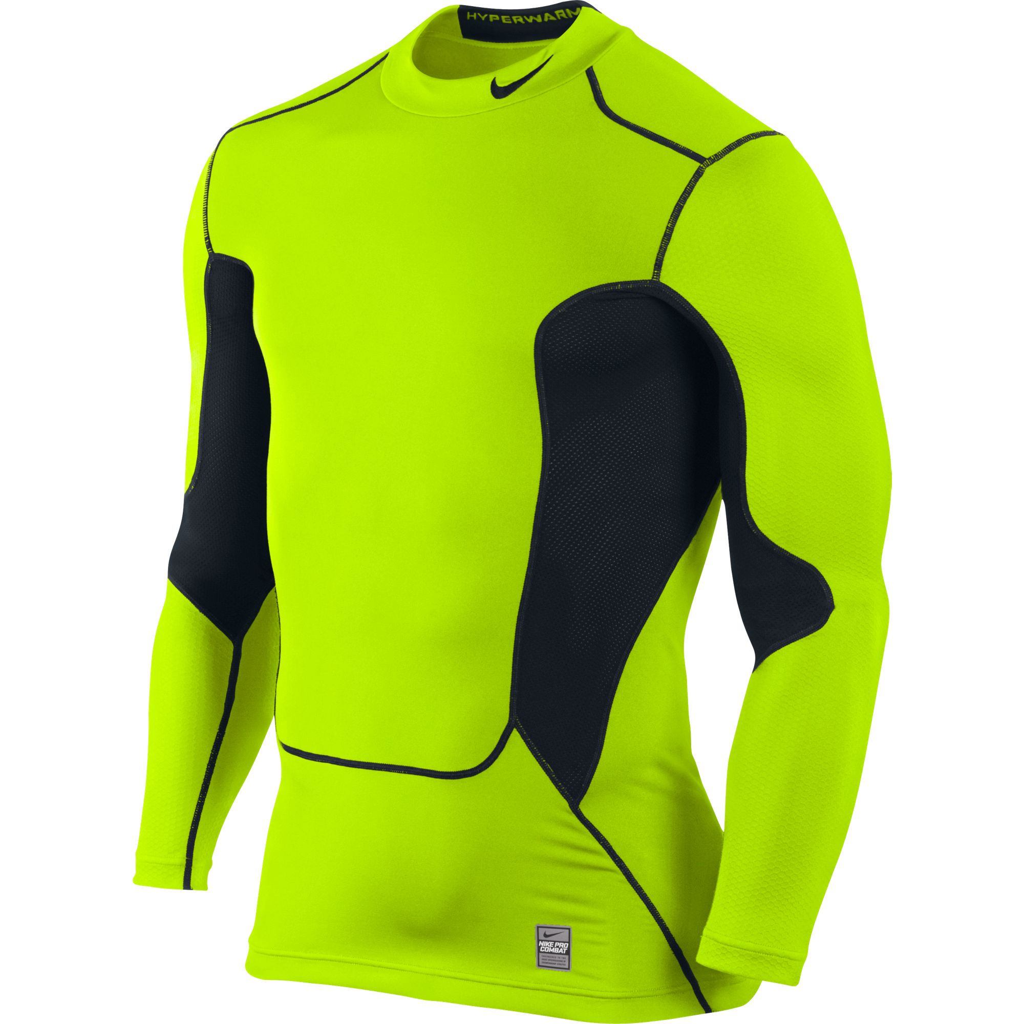 Wiggle nike hyperwarm dri fit max shield comp mock for Under armour dri fit long sleeve shirts