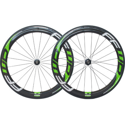 Fast Forward F6R Carbon Tubular Kawasaki Green Wheelset
