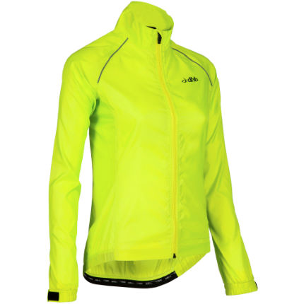 dhb Women's Active Hi Viz Waterproof Jacket