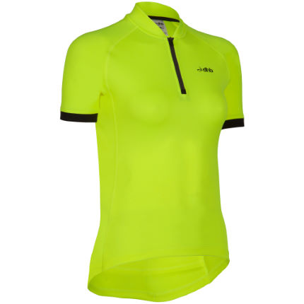 dhb Women's Active Hi Viz Short Sleeve Cycling Jersey