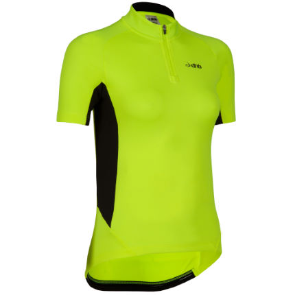 dhb Women's Active Hi Viz Panelled ShortSleeve Jersey