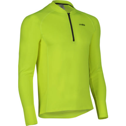dhb Active Hi Viz Long Sleeve Cycling Jersey