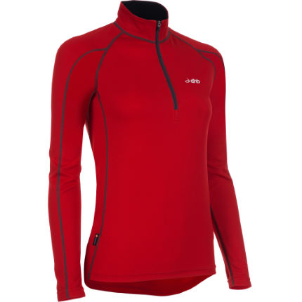 dhb Women's Active Long Sleeve Zip Neck Base Layer