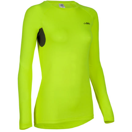 dhb Women's Active Hi Viz Long Sleeve Run Top - AW14