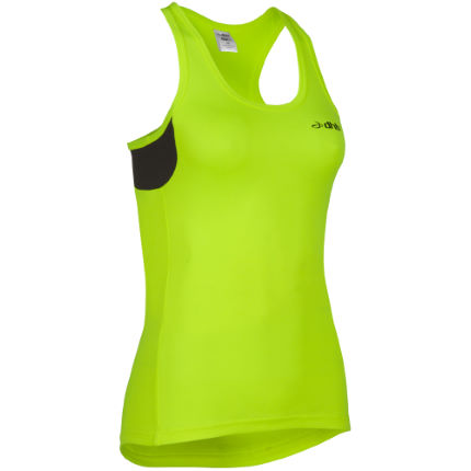 dhb Women's Active Hi Viz Run Singlet - AW14