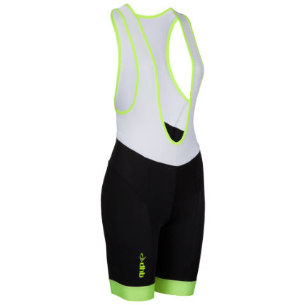 dhb Women's Blok Fluro Cycle Bib Shorts