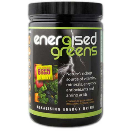 Energised Greens 270g Tub