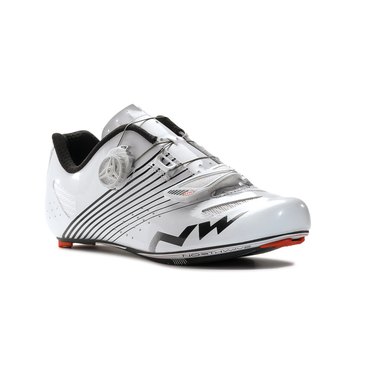 Northwave Torpedo Plus Road Shoes - 47 White   Road Shoes