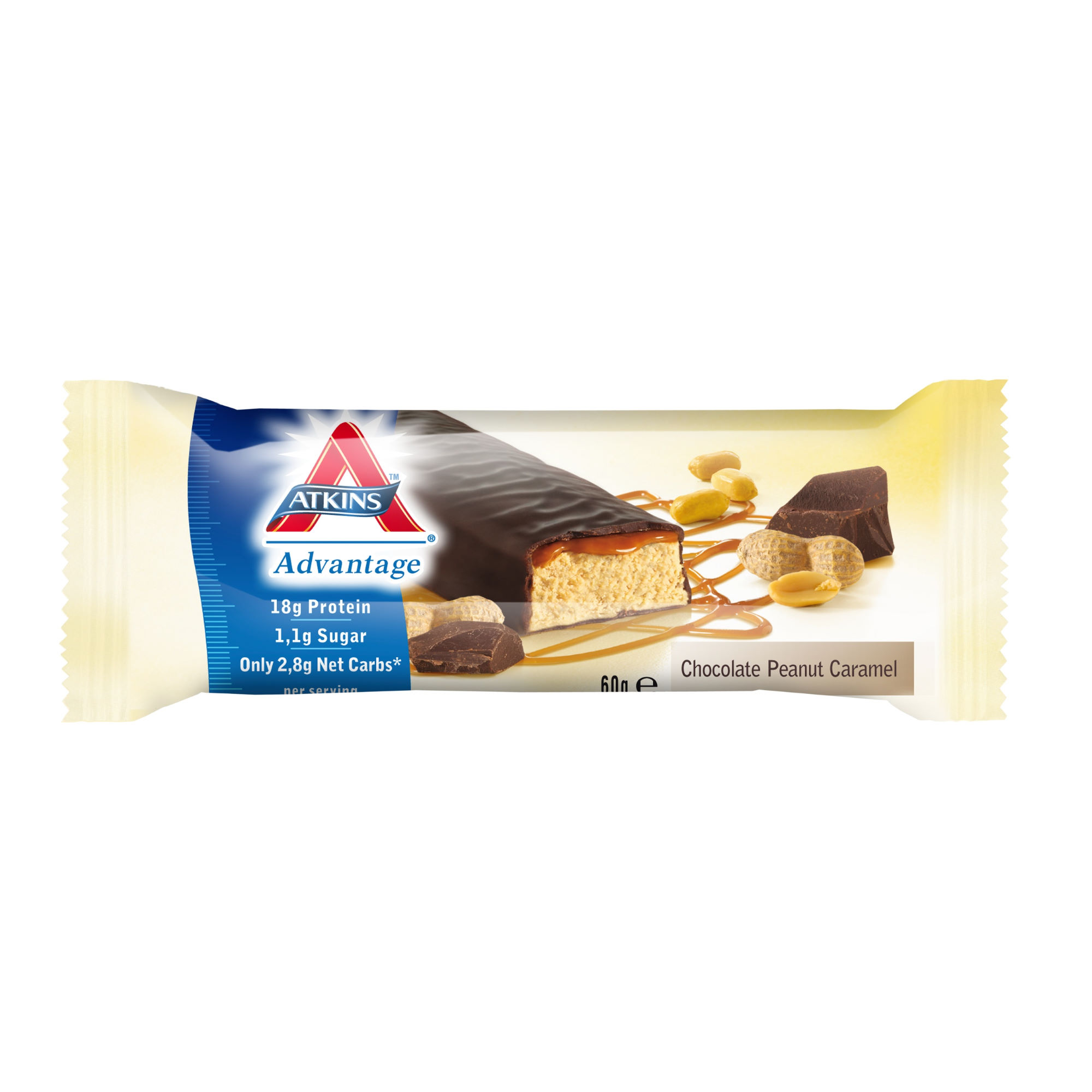 Atkins Bars 16 X 60g