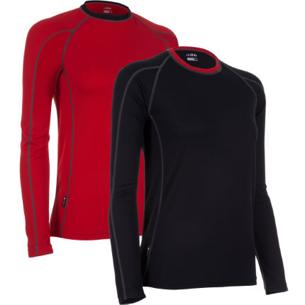 dhb Ladies Corefit Long Sleeve Base Layer - Pack of 2