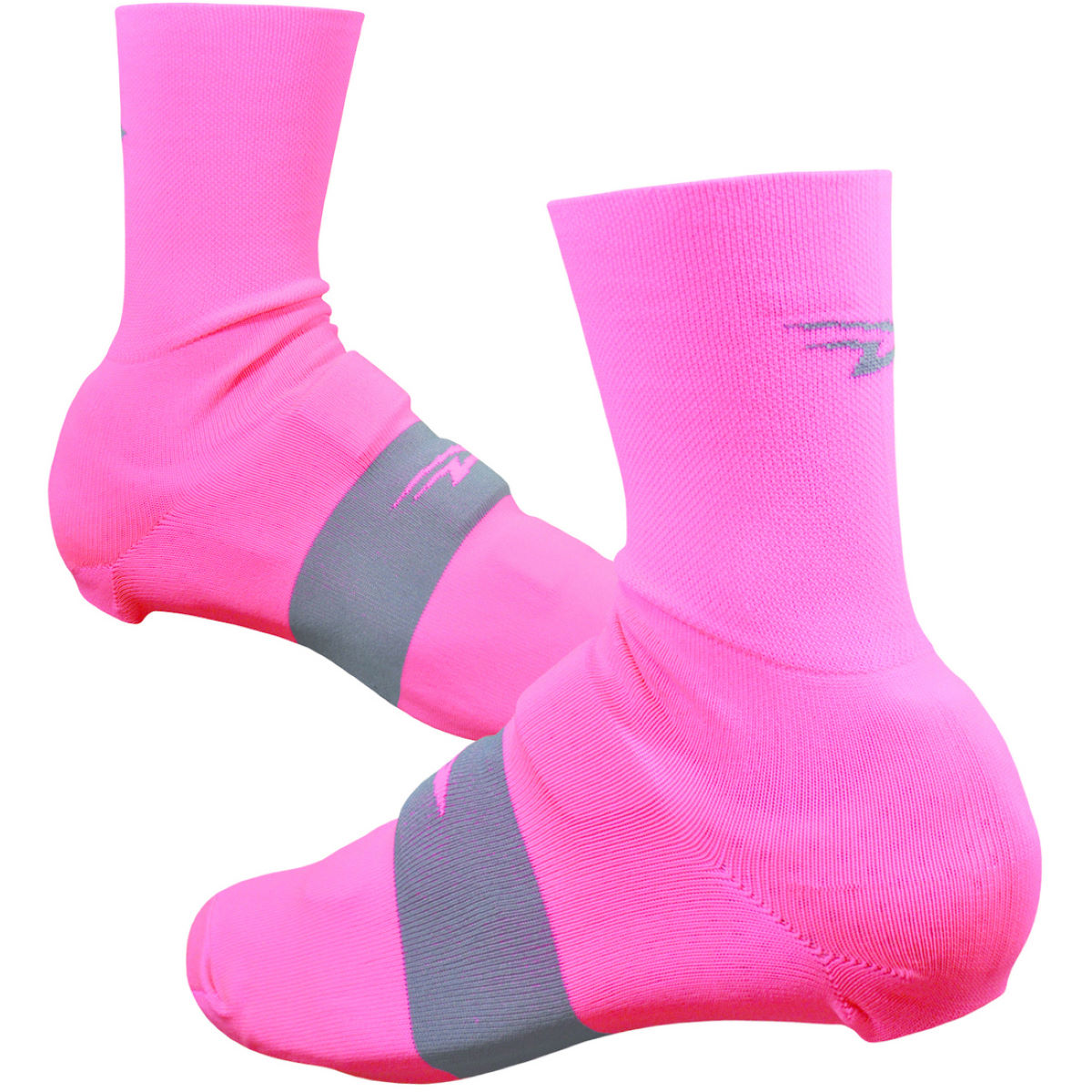 Couvre-chaussures DeFeet Slipstream (fluos) - L/XL Flamingo Pink