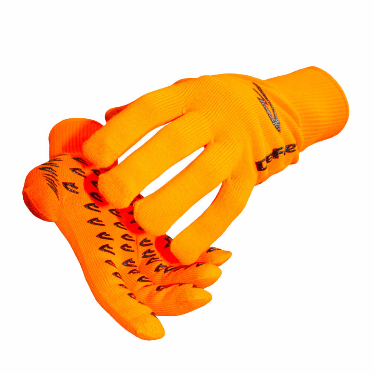 Gants DeFeet E-Touch Neon Dura - XS Orange Gants