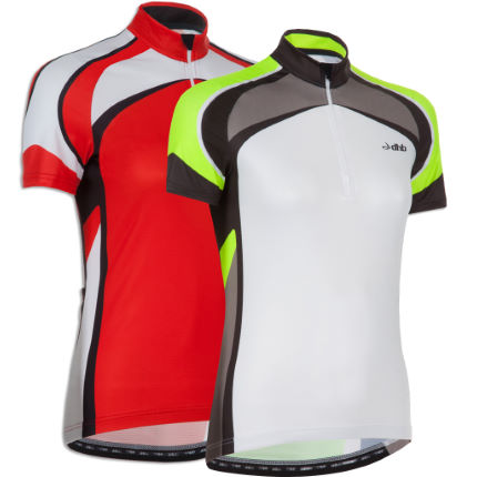 dhb Ladies Chase Short Sleeve Jersey-Pack of 2