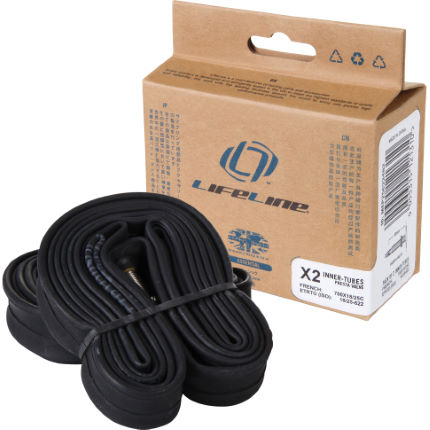 LifeLine Essential Narrow Road Inner Tubes - 2 Pack
