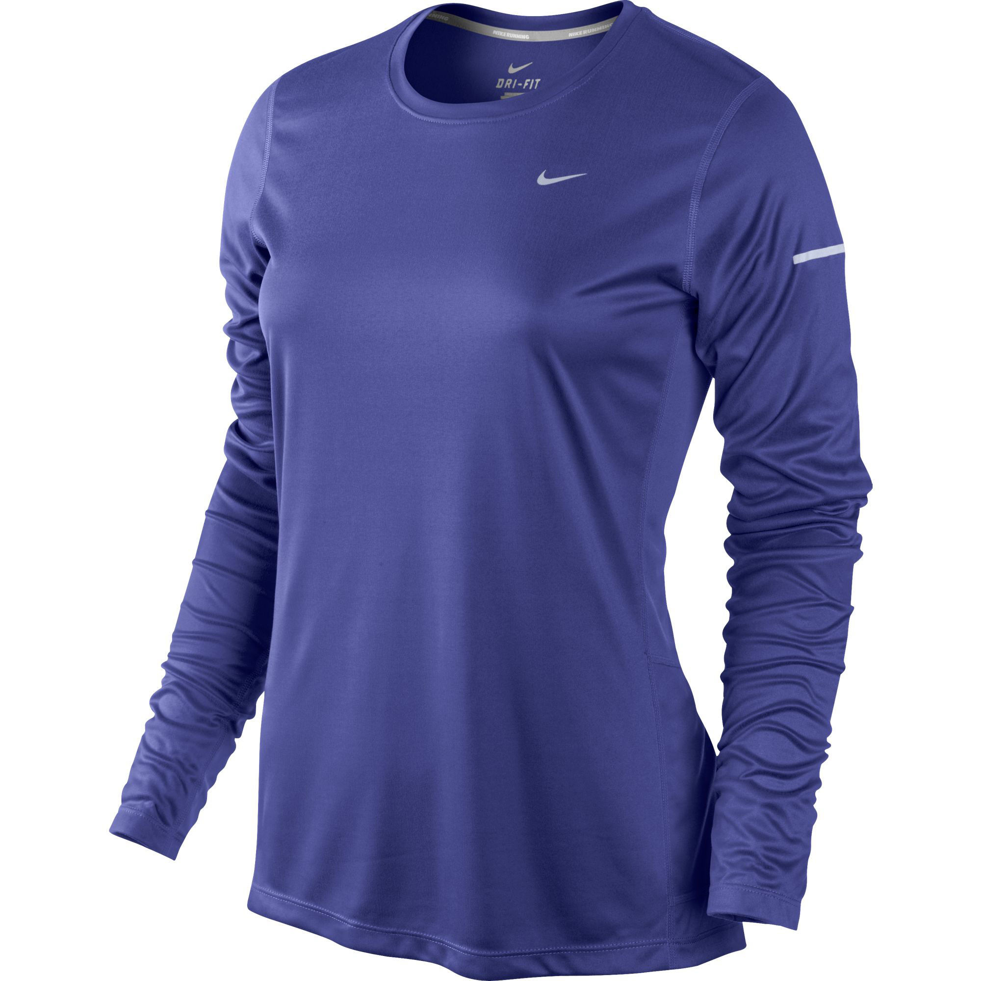 Wiggle nike women 39 s miler long sleeve top sp14 long for Women s running shirts