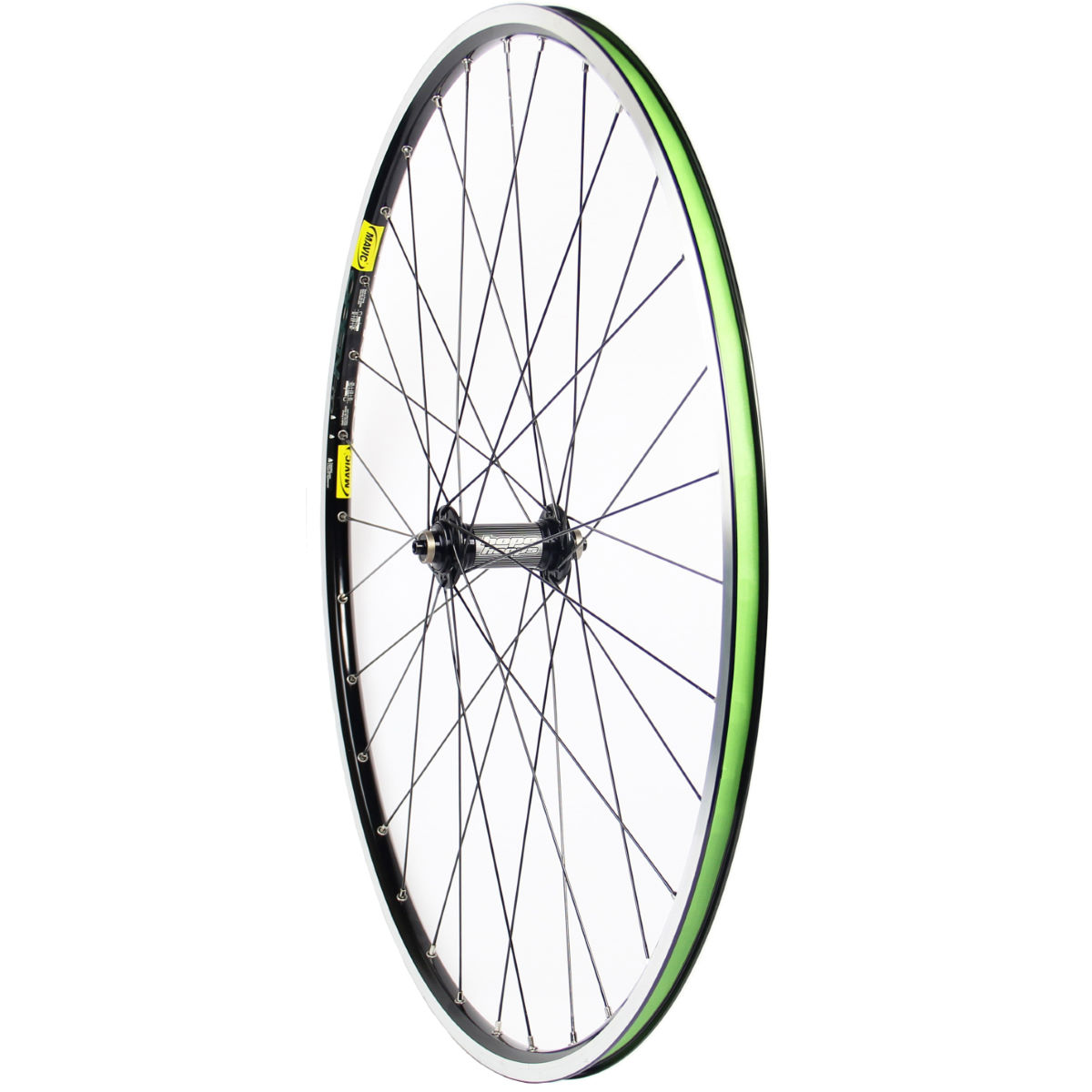 Roue avant Hope Hoops Mono RS - Stans Alpha Noir Roues performance