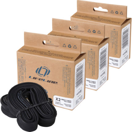 LifeLine Essential Narrow Road Inner Tubes 60mm Presta x 6