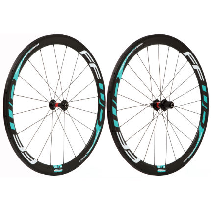 Fast Forward F4R Carbon Tubular 240s Celeste Wheelset