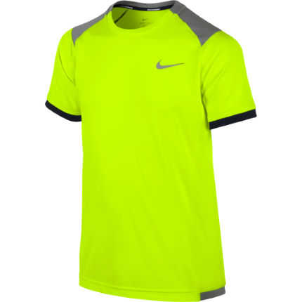 Nike Boys Miler Short Sleeve Crew - SP14