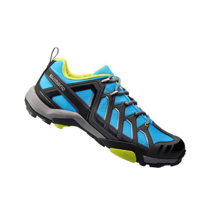 Shimano MT34 SPD Touring Cycle Shoes - Blue