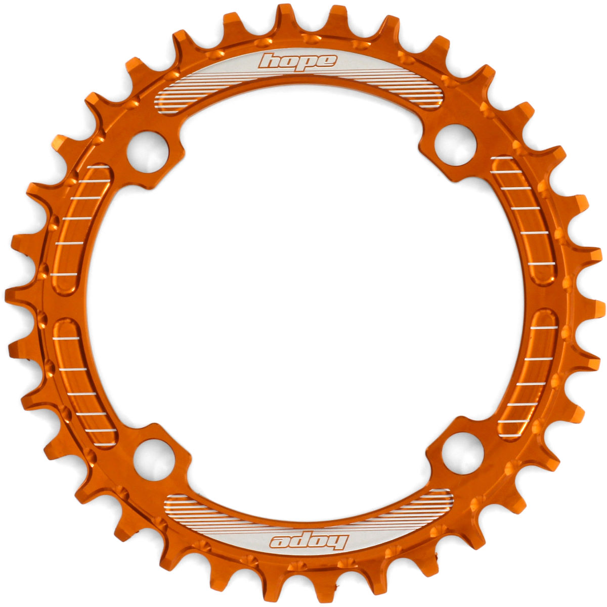 Bague de blocage Hope Retainer Narrow/Wide (30 dents) - Orange