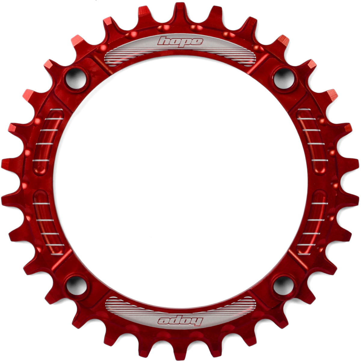 Bague de blocage Hope Retainer Narrow/Wide (30 dents) - Rouge