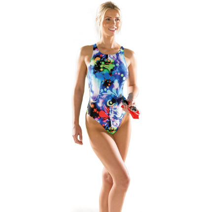 Maru Women's Groovy Zone Back Swimsuit SS14