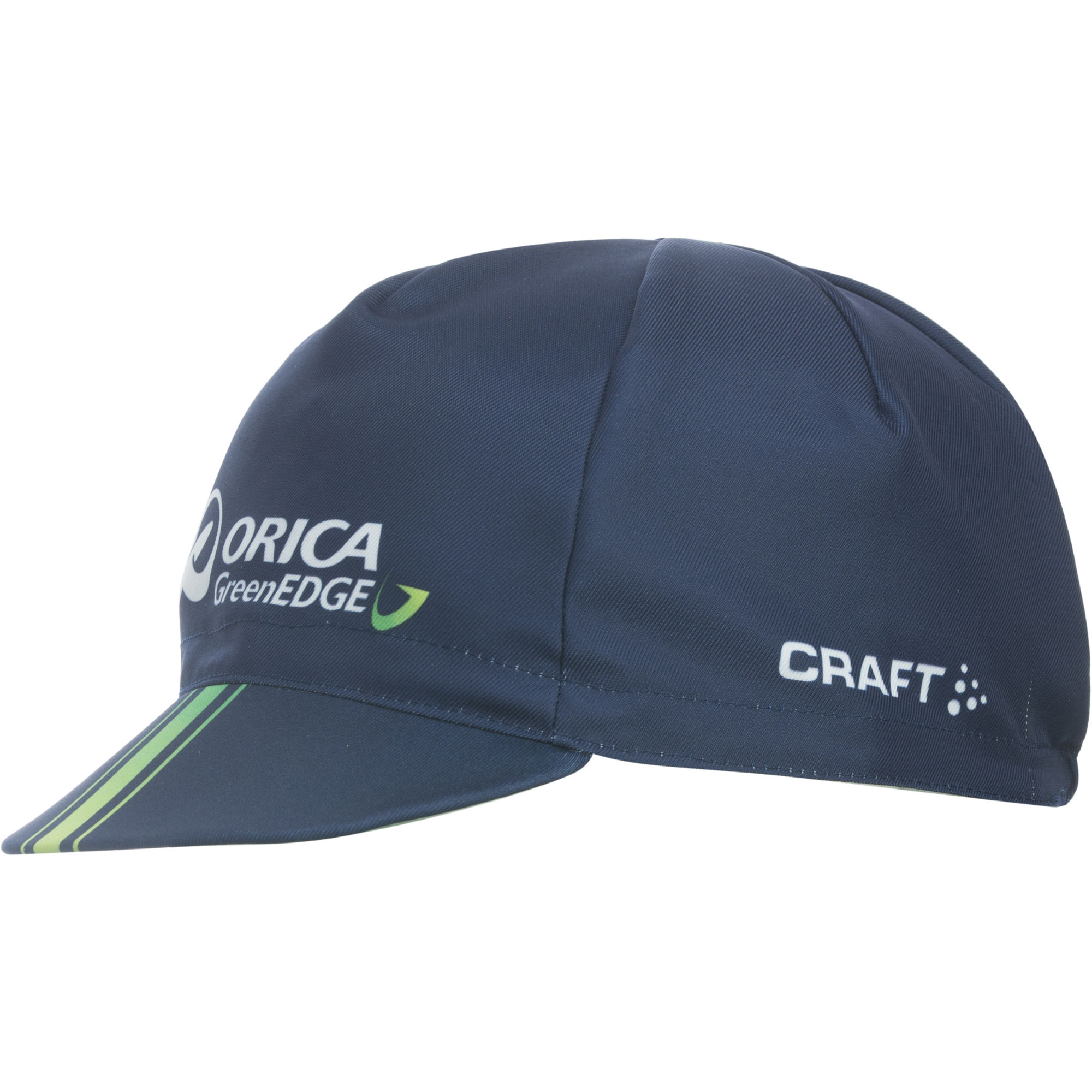 Wiggle craft orica greenedge bike cap team accessories for Cap crafter
