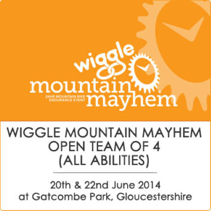 Mountain Mayhem Wiggle Open Team Of 4 (All Abilities) 2014